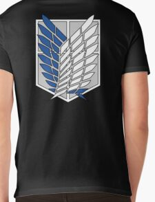 Scouting Legion - Attack on Titan cosplay - flat version Mens V-Neck T-Shirt