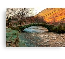 Packhorse Bridge - Wasdale Head Canvas Print