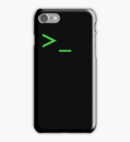 Command Prompt iPhone Case/Skin