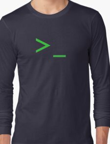 Command Prompt Long Sleeve T-Shirt