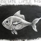 1. Big Fish Eats Little Fish. by Thea T