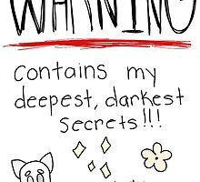 Contains Secrets and Doodles by DoodlesAndDogs