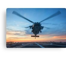MH-60S Seahawk Helicopter Canvas Print