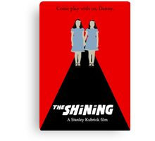 the Shining minimalist  Canvas Print