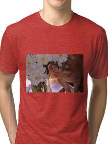 Eli in My Peonies Tri-blend T-Shirt