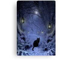 Frostar Midnight Canvas Print