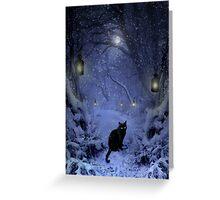 Frostar Midnight Greeting Card