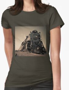 Steaming Womens Fitted T-Shirt
