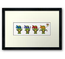 TMNT Chibis  Framed Print
