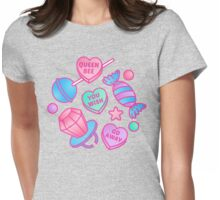 Candy Queen Womens Fitted T-Shirt