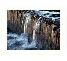 Waterflow Art Print