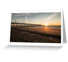 Sunrise in August Greeting Card