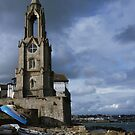 The Wellington Clock Tower - Swanage Dorset by viennablue
