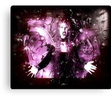 Fairy Vampire Enhanced Canvas Print