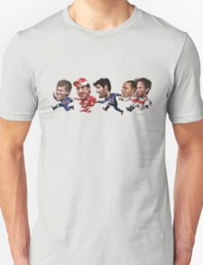 Formula 1 drivers 2010 - the final result version. T-Shirt