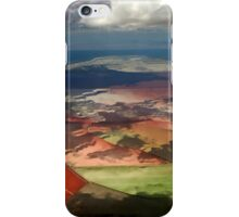 View From A Plane iPhone Case/Skin