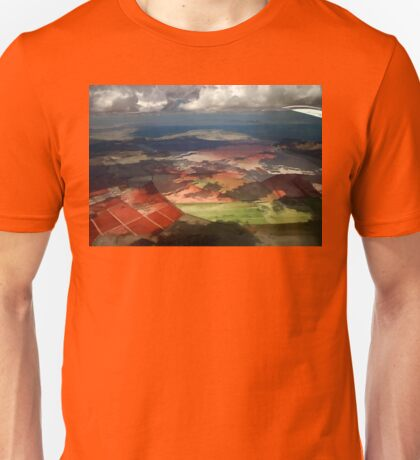 View From A Plane Unisex T-Shirt