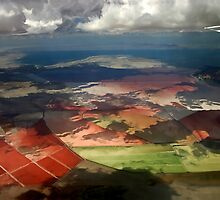 View From A Plane by Barbara D Richards