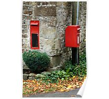 The Red Post Box Poster