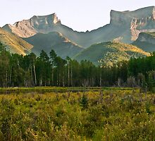 Sleeping Giant at Prophet Muskwa by Sue Ratcliffe