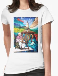 Gaia(Mother Earth) Womens Fitted T-Shirt