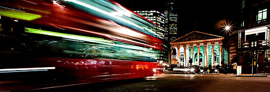 Rushing Home by Darren Bell