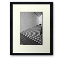 the last run Framed Print