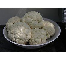 Cauliflowerssssssssssss Photographic Print