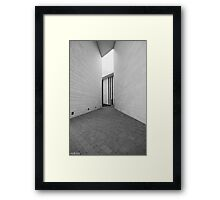 the last exit Framed Print