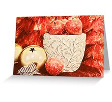 Frosted Apples Greeting Card