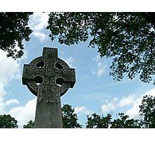 Beautiful Old Celtic Cross Photographic Print