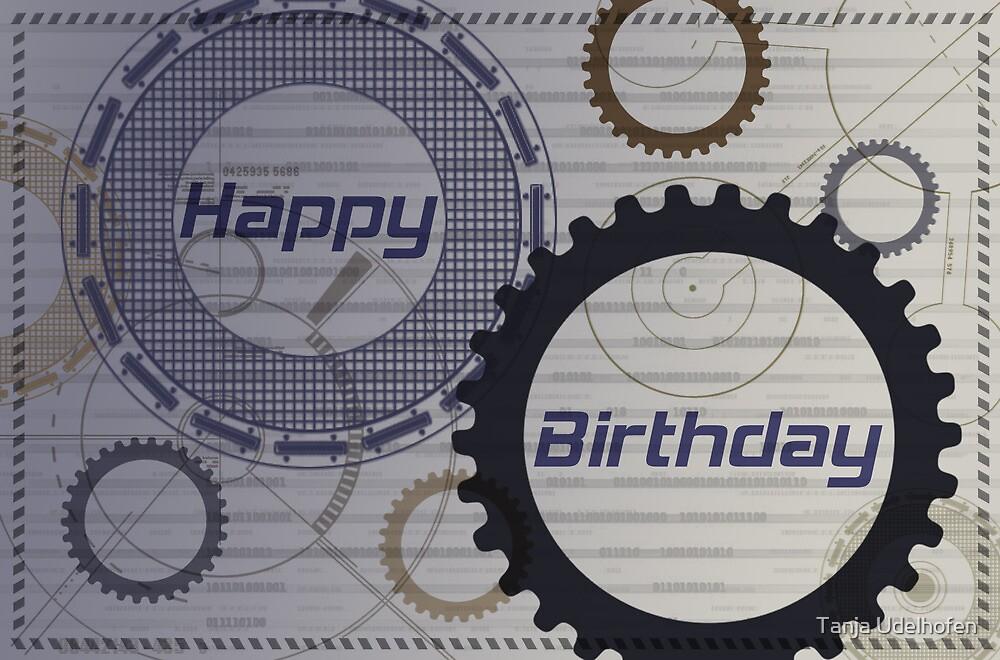Birthday Card 3 by Tanja Udelhofen