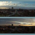 Prague Nusle Bridge double panorama 2 by SvobodaT