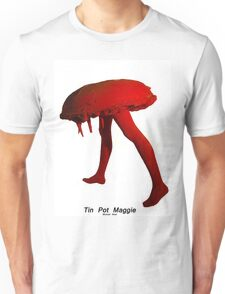 Tin Pot Maggie Red series Sculpture, Unisex T-Shirt