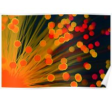 Fibre Optic Lamp Poster