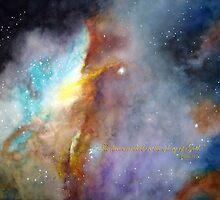 N11b Large Magellanic Cloud - Scripture by Allison Ashton