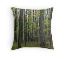 Trees of Green Throw Pillow