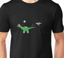 Sauropod in Space Unisex T-Shirt