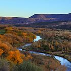 Chama River at Sunset by outcast1