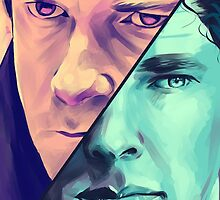 Watson and Holmes by WillTPJ