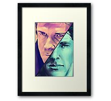 Watson and Holmes Framed Print