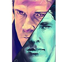 Watson and Holmes Photographic Print