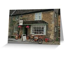 Lacock Village Bakery Greeting Card