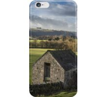 Farmland in the peaks iPhone Case/Skin
