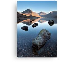 Wasdale Head From Wastwater Canvas Print