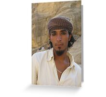 The Bedouin. Greeting Card