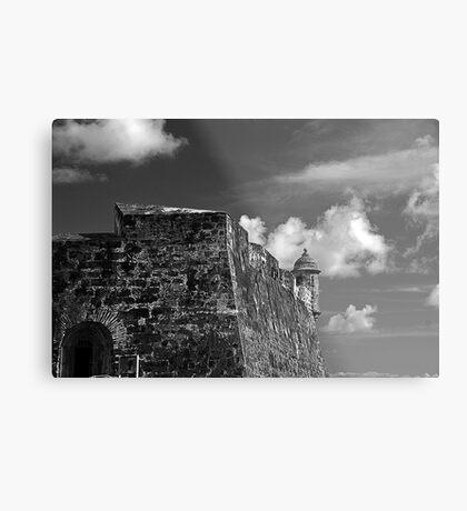 Old San Juan Fort Metal Print