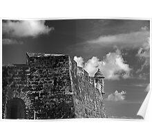 Old San Juan Fort Poster