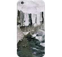 Icicles on the River II iPhone Case/Skin
