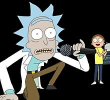 Musical Rick and Morty by Bluepotatogirl